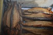 Declicious smoked Omul fish on sale in Lysvyanaka: by nomadnorrie, Views[392]