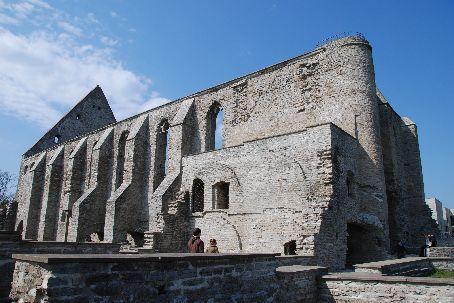 Tallinn - the ruined monastery