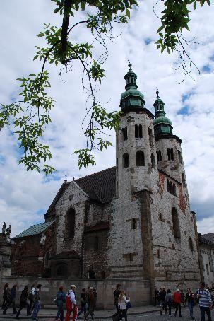 A church in Krakow.