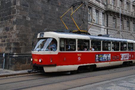The lovely Prague trams.