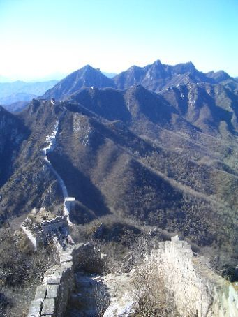 The Great Wall - where have we got to go?  It's not in this view.
