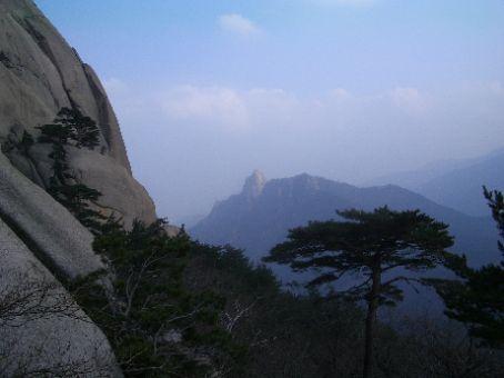 The big rock hike in Seorak NP