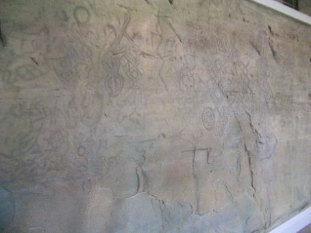 Rock carvings in the Gyongju National Museum