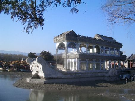 Empress Dowager Cixi paid for this marble boat to be built with Navy funds!