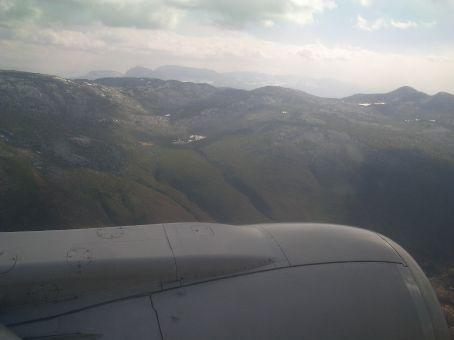 Flying over Lijiang