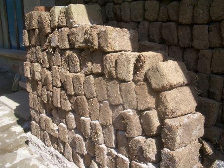 Baisha mud bricks