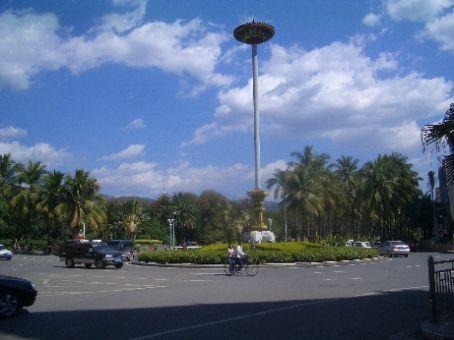Jinghong, the main city in Xishuangbanna