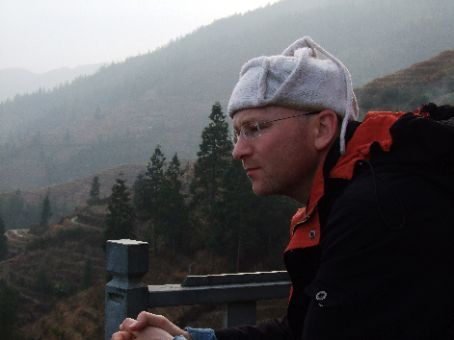 Taking a breather in Longsheng rice terraces