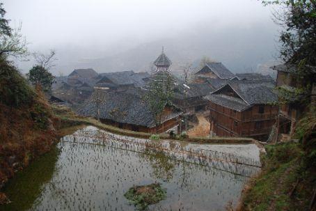 Looking down on Jilun
