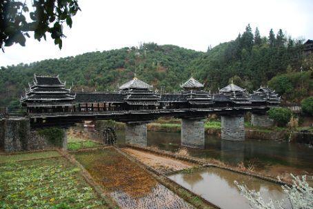 The bridge in Sanjiang