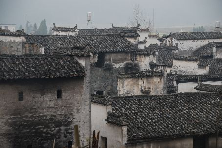 Huizhou style architechture in Sixi village