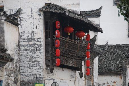 Huizhou style architechture in Xiaolikeng