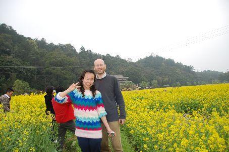 Xiaoqi, Xiao Huan and me