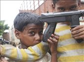 Despite nagging hardship, children everywhere in Dharavi still laugh and play: by nonietuxen, Views[251]