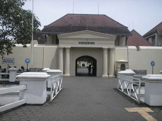 that  Jogja could be found some historical buildings with European-style archite