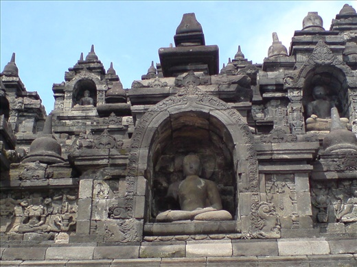 Borobudur Relief 2- Buddhist temple