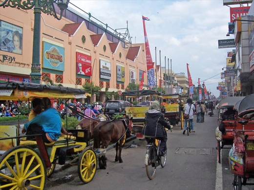 Malioboro street - Jogja Souvenir Market
