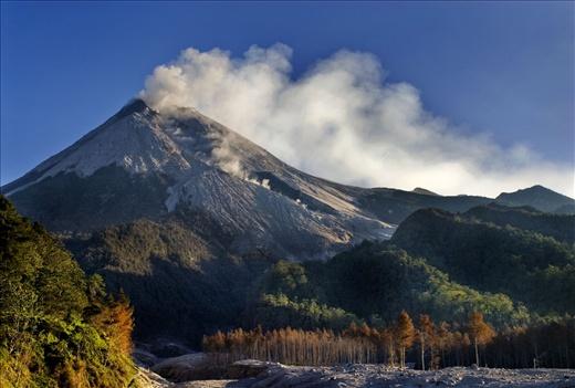 MOUNT MERAPI VIEW