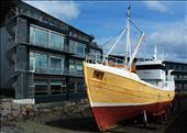 There are many fishing vessels and ships for tourists in Reykjavik Old Harbour.: by nordic, Views[194]