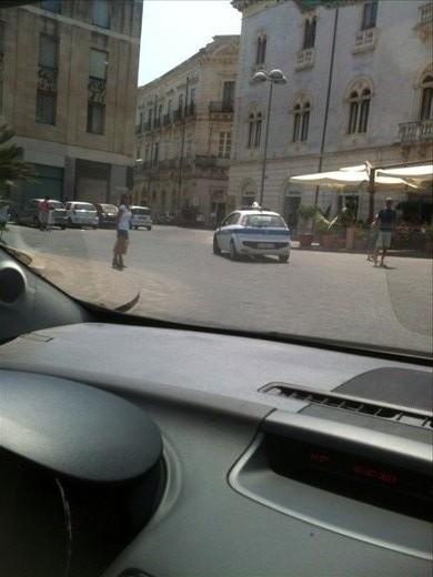 Police escort to hotel