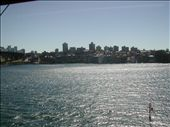 Aqui estoy en el barco, rumbo a Manly Beach, saqué hartas fotos desde el ferry: by nortina, Views[319]