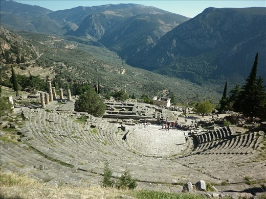 Delfos, anfiteatro