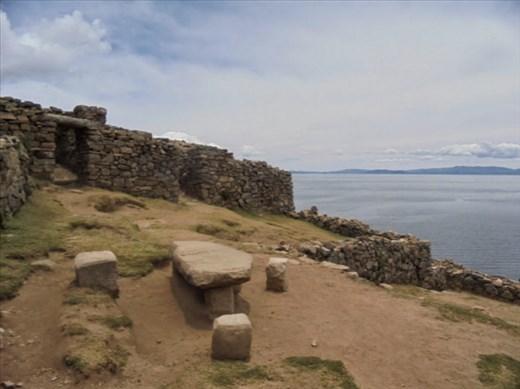Sin palabras. Ruinas tiwanakotas (preincaicas)