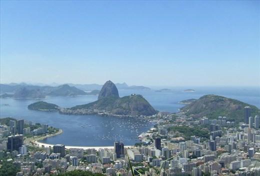 Rio de Janeiro, típica postal
