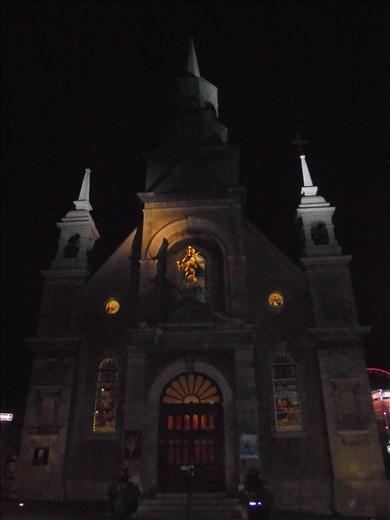 Iglesia Notre Dame de Bon Secours, viejo puerto, Montreal