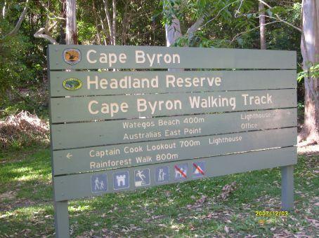 Punto mas al Este de Australia se ubica en Byron Bay