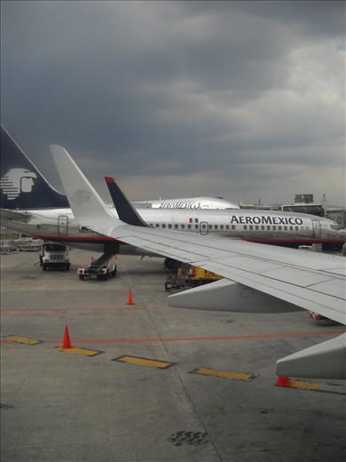 Aeromexico at T2