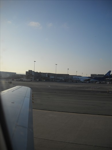 LAN 767, Los Angeles Tom Bradley Terminal