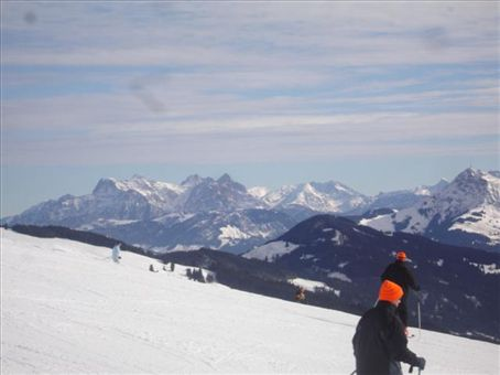 our snowboarding trip in the austrian alps