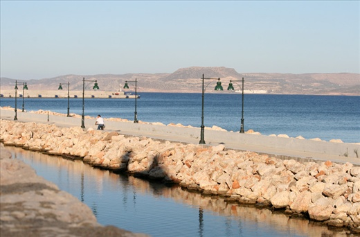 Sitia impress with its calmness, harmony...