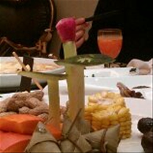 beautiful food presentation