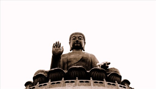 The Big Buddha at Lantau Island