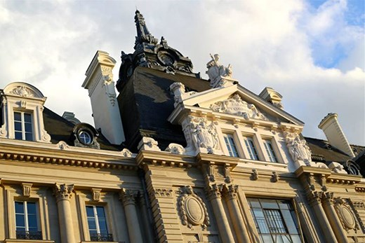 Detail of Rennes architeture
