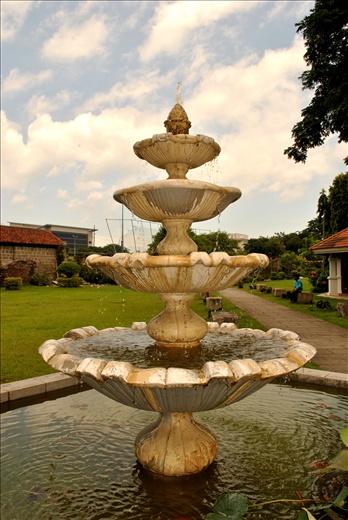 Fountain of Love in Baluarte de San Diego Gardens, Intramuros Manila