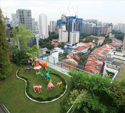 Orchard Central Green Roof