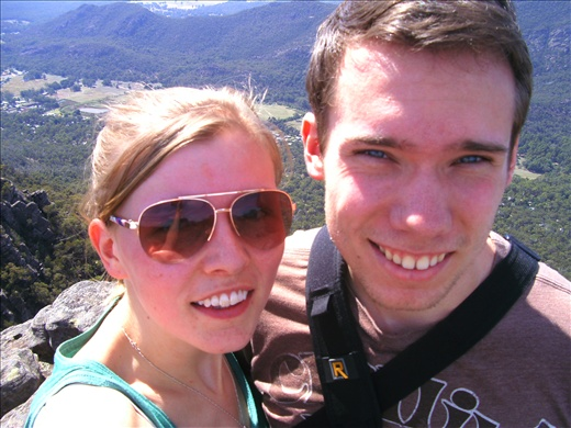 Me and Matt in The Grampian National Park