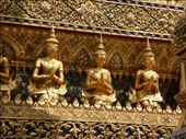 Buddha images on the temple: by out2explor, Views[126]