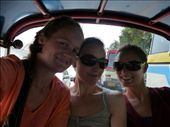 Me with Leigh and Lara on a tuk-tuk: by out2explor, Views[197]