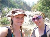 Leanne and I at the waterfall: by out2explor, Views[186]