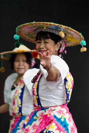 Filipino Sampang Dancers