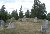 Small stone circle marking a burial site: by ozweaver, Views[258]