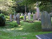 Gorgeous cemetery at the St. Just church in Roseland, Cornwall.: by packlightwalkslow, Views[1162]