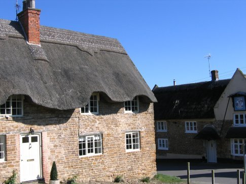 Real thatched roofs!