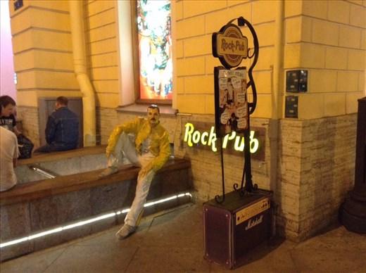Freddie Mercury Rock Pub on Nevsky