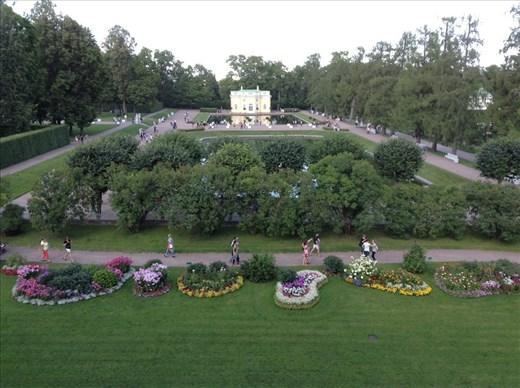 Palace gardens, Katarine Dvorets
