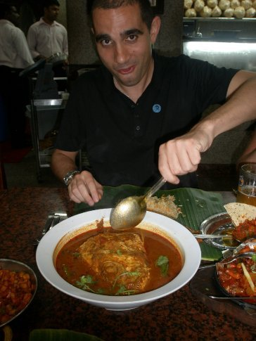 Fish head curry....